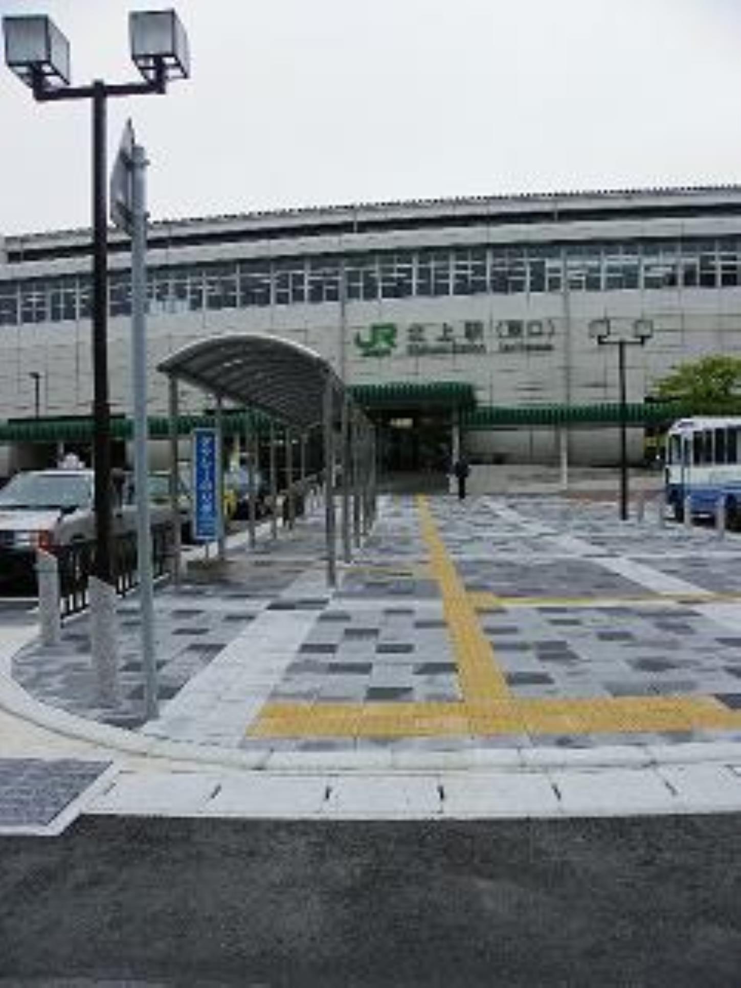 JR東日本北上駅 東口